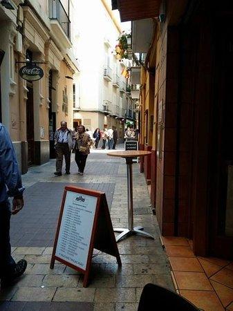La Migueria: Entrada