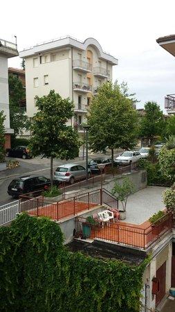 Hotel Perugina : Visuale dal balcone