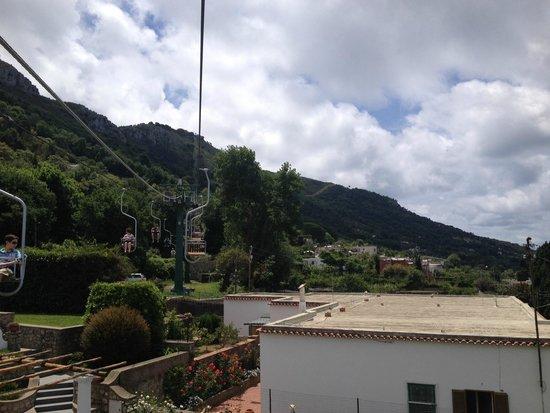 Mount Solaro: chairlift