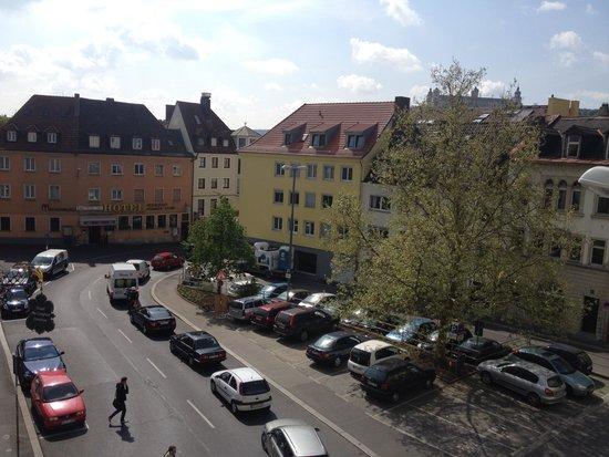 Maritim Hotel Würzburg: vista desde la habitación