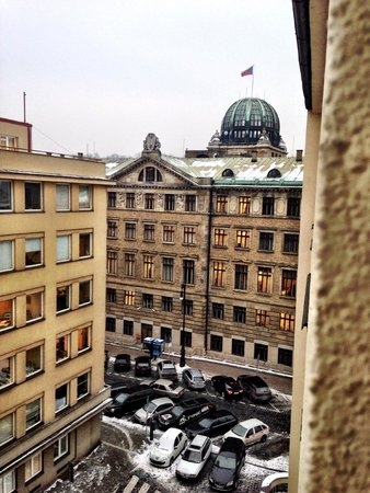 Clarion Hotel Prague Old Town: View from our room