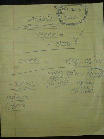 Bavaro Princess All Suites Resort, Spa & Casino: Descriptif du timeshare systeme de point escroquerie attention!!!