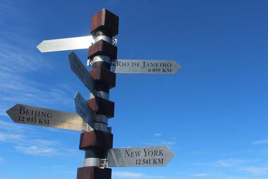 Cape of Good Hope: Placas indicativas
