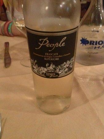 Il Tettuccio : Frascati white wine