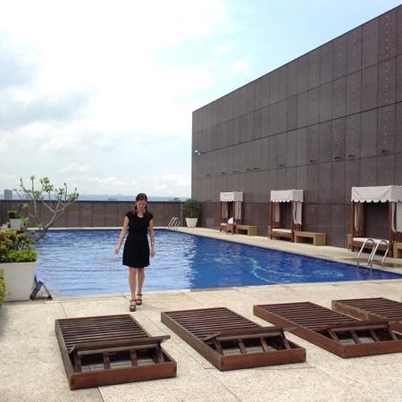 The Okura Prestige Taipei: The pool