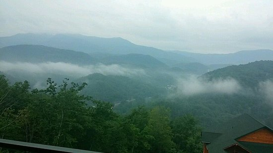 Westgate Smoky Mountain Resort & Spa: The view from our room