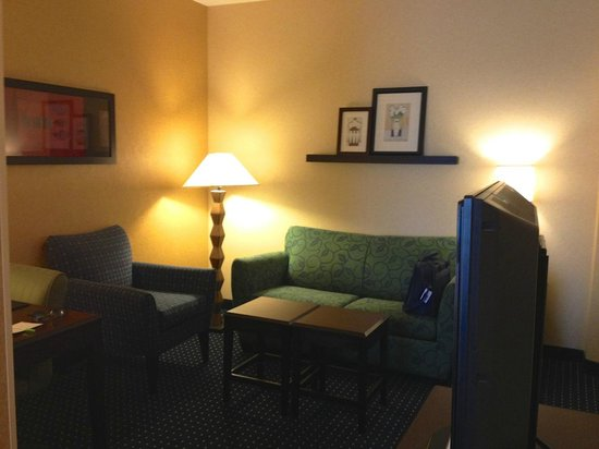 SpringHill Suites Denver Airport: Sitting area of room