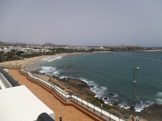Be Live Experience Lanzarote Beach: View from room in bloque (block) 3
