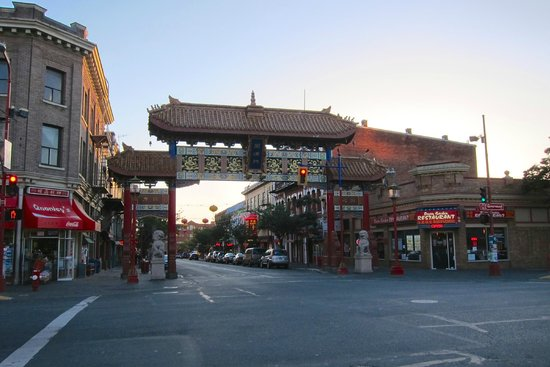 Entrance of Chinatown