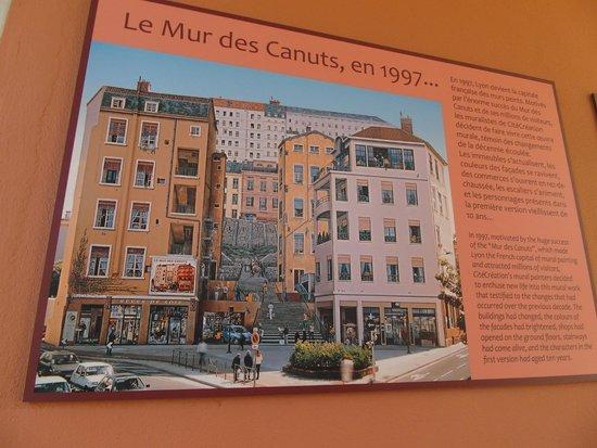 Le Mur des Canuts, en 1997