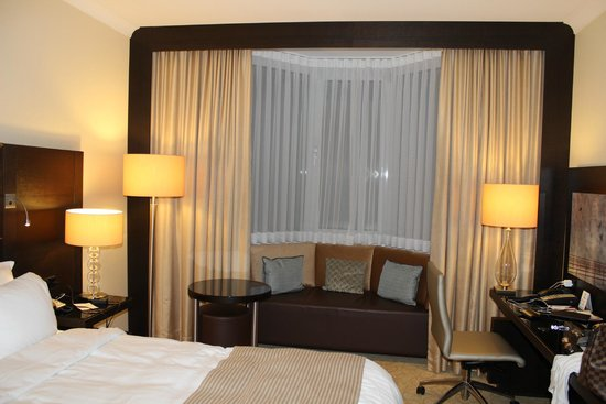 Heidelberg Marriott Hotel: Quarto