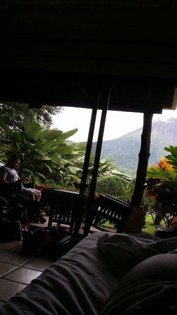 Arenal Manoa Hotel: view from our room