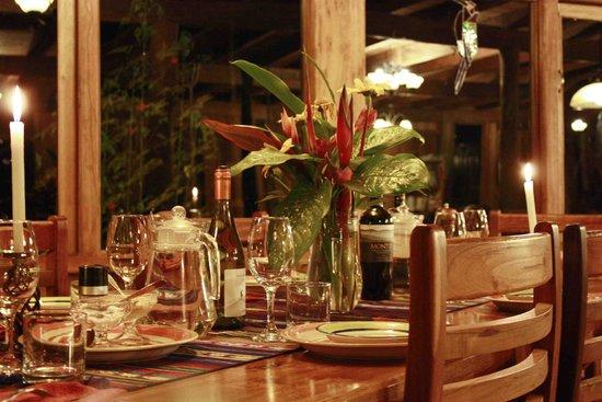 Casa Divina Lodge: Dinner