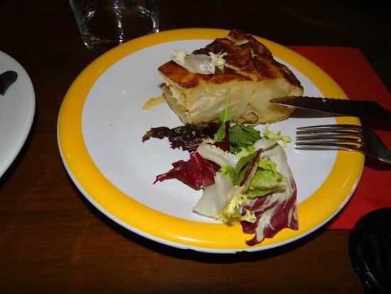 El Cuerno Tapas: Tortilla...