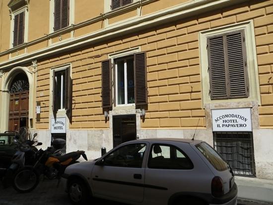 Hotel il Papavero: Reception
