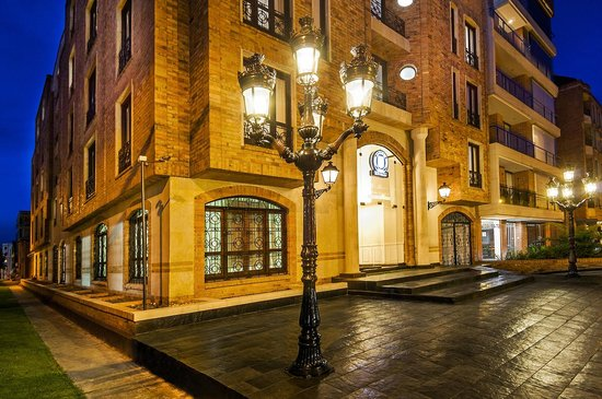 Hotel Le Manoir Bogota: Hotel Front