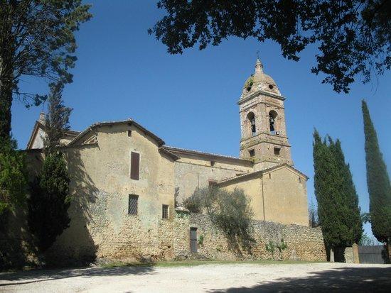 Sovicille, Olaszország: Eremo di Lecceto: the entrance
