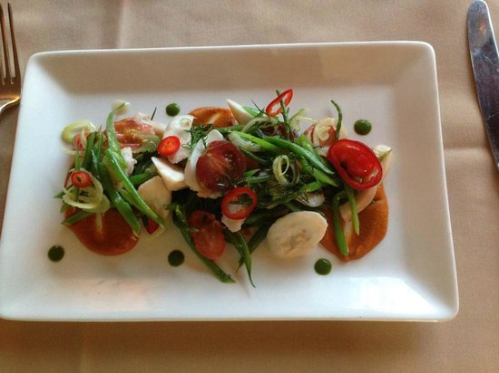 Keystone Ranch Restaurant: Olive Oil Poached Spanish Octopus Salad