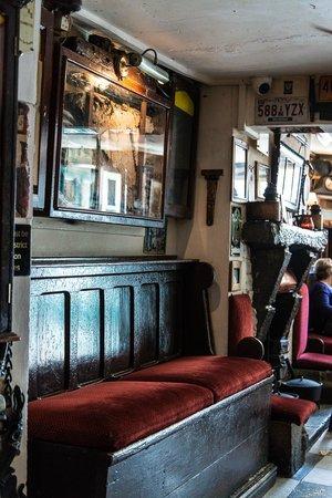 Interior view in Sean's Bar
