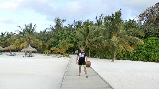 Anantara VeliMaldivesResort : Пляж