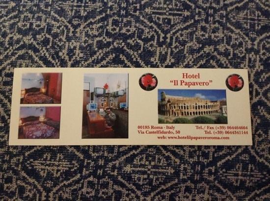 Hotel il Papavero: Bookmark