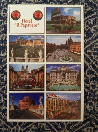 Hotel il Papavero: Postcard