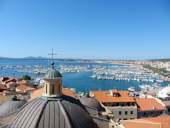 Cattedrale di Santa Maria: Uitzicht vanuit de klokkentoren over de haven