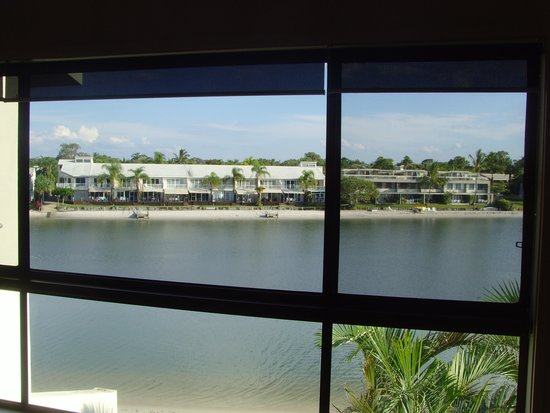 Culgoa Point Beach Resort: view from room