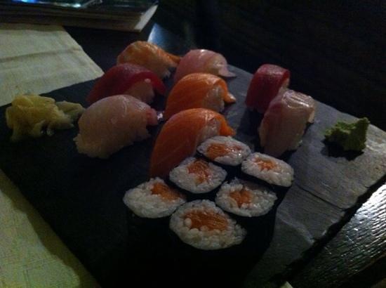 Yokohama Flavour Journey Cuisine: il mio piatto di sushi