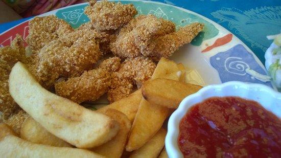 Sea Critters Cafe : Almond Crusted Shrimp