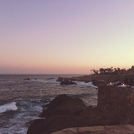 Cocina del Mar at Esperanza Resort: Sunset