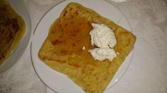 Diwane Hotel: Crepe do café da manhã: o campeão da viagem