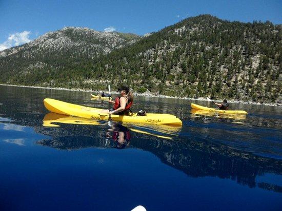 Tahoe Adventure Company: Kayaking on beautiful Lake Tahoe