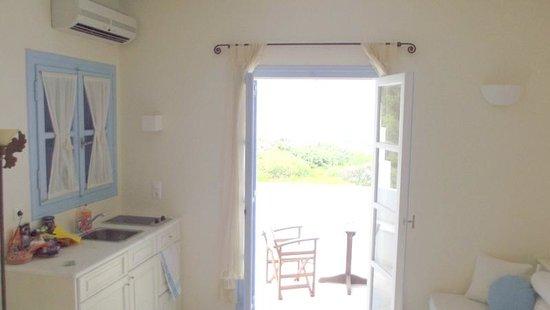 Villa Marandi Luxury Suites: room had everything we needed and more
