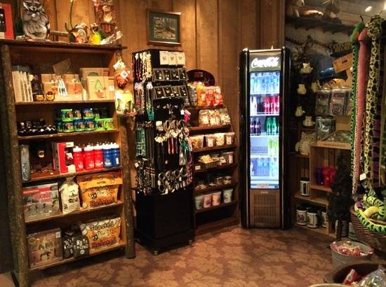 Abe Martin Lodge : snack and gift area