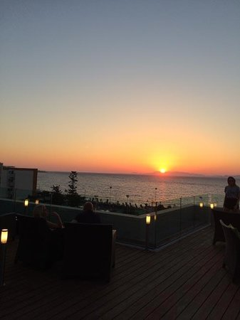 Sheraton Rhodes Resort: What a sunset