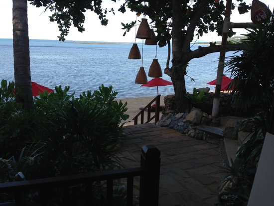 Rocky's Boutique Resort: View from beachfront room - just steps to the beach