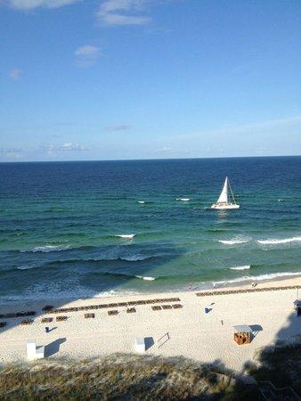 Sunrise Beach Resort: Balcony View