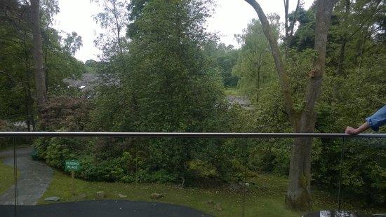 Brimstone at Langdale: Balcony view