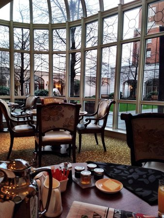 InterContinental Dublin: Greenhouse dining