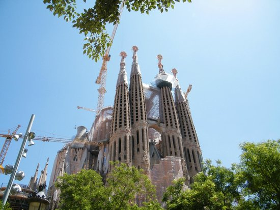 Sagrada - Picture of Basilica of the Sagrada Familia, Barcelona - TripAdvisor