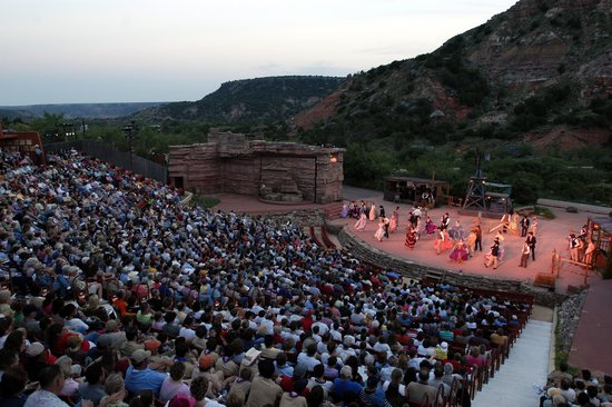 Canyon, Teksas: TEXAS Outdoor Musical Drama