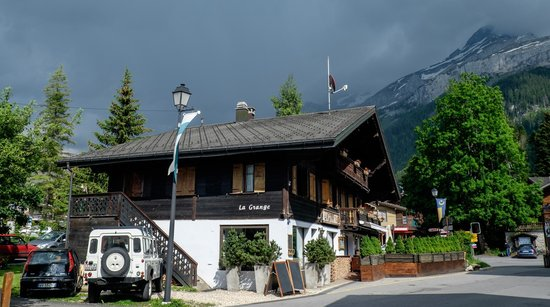 The restaurant picture of la grange les diablerets tripadvisor - Restaurant grange les beaumont ...
