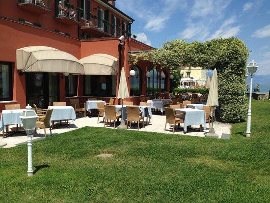 Hotel Fonte Boiola : ristorante all' aperto