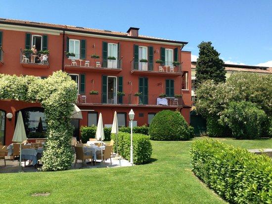 Hotel Fonte Boiola : giardino
