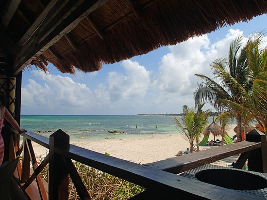 Secrets Silversands Riviera Cancun : Picture from the beach bar