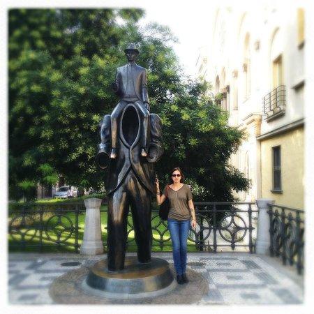 Le Palais Art Hotel Prague : Exploring the local parks
