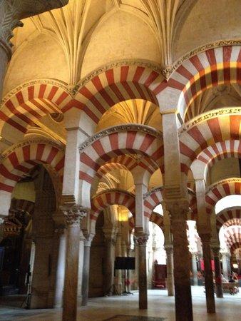Cathédrale de Cordoue : Les colonnes