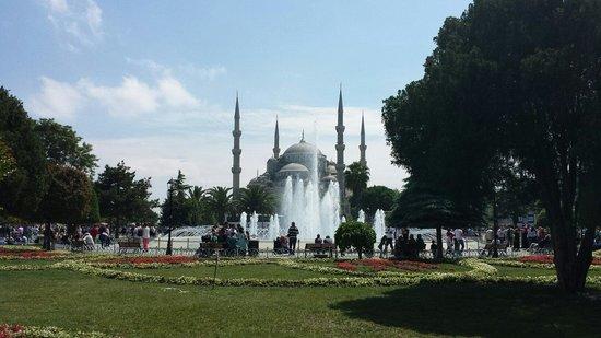 Mosquée Bleue (Sultan Ahmet Camii) : вид