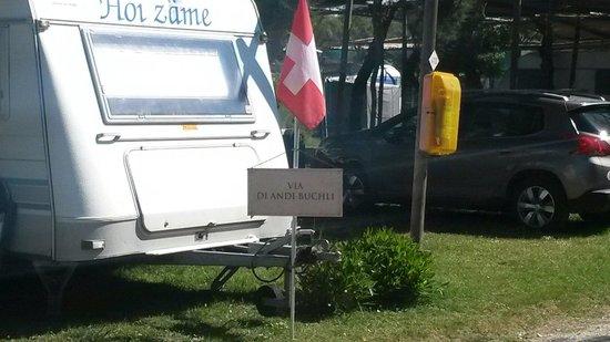 Camping Tripesce : Una via personalizzata degli ospiti.